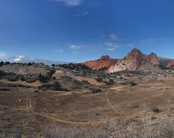 Garden of the Gods, Colorado Springs, Colorado, tails, hiking