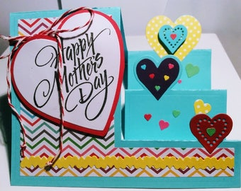 Happy Mother's Day Step Card