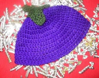 Eggplant cap for Baby