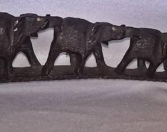 Wooden Elephant Bridge