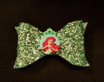 Little Mermaid Bow // Ariel Bow // Princess Bow // Disney Bow