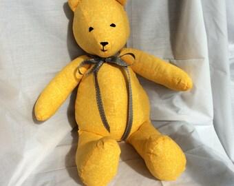 """Handmade 18"""" Infant Safe Teddy Bear"""