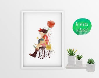 Arrietty, Instant Download, 6 print sizes included  10068a