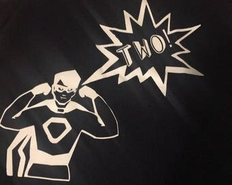 Superhero Birhday Shirt