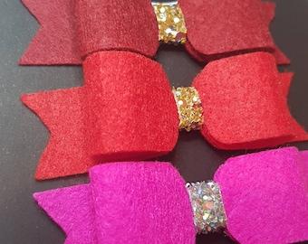 Cherry Blossom Bow Set, newborn, hairbows, girls bows, accessories, jojo