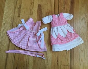 "Doll dress set for 12"" Waldorf Doll"