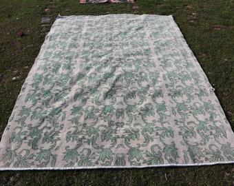 Oversize area rug, 6.6 x 9.9 ft. Free Shipping large size bohemian rug, floor rug, hall design rug, king size area rug, turkish rug, MB578