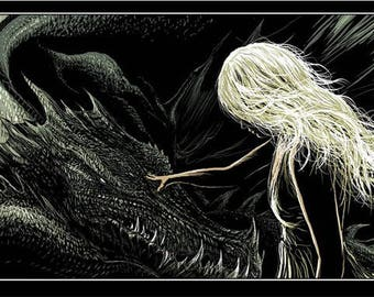 Game of Thrones: Mother of Dragons Print