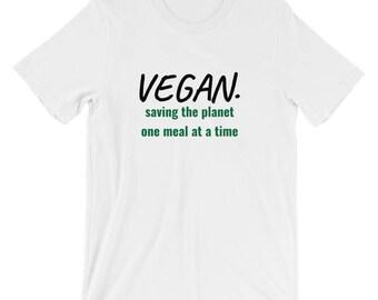 Short Sleeve Vegan T shirt