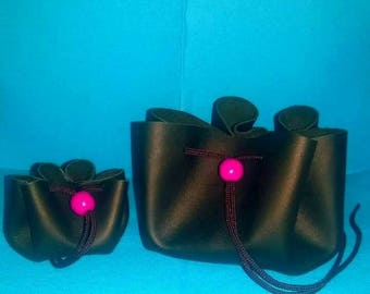 Leather purses made by hand * Handmade leather purses