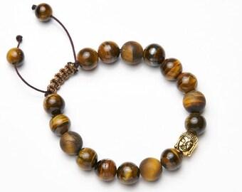 Mens-Women's Bracelet * Golden Budda */mens-Womens Bracelet * Golden Budda *