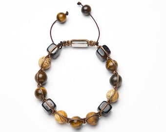 Mens-Women's bracelet * Brown picture */mens-Womens Bracelet * Brown picture *