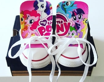 My Little Pony Custom Converse - My Little Pony - Custom Chucks