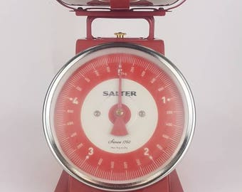 Retro Kitchen Scale by Salter