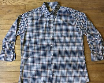 Gitman Brothers Plaid Oxford Button Down