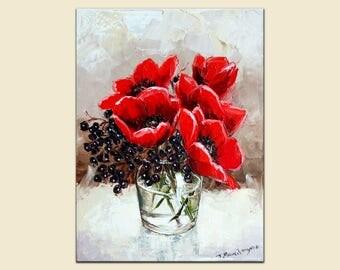Tulips   30x40cm  oil on canvas