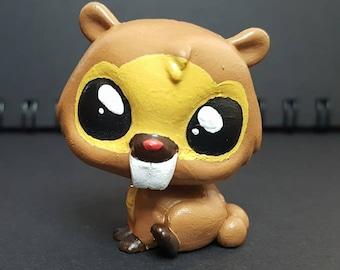 Custom Littlest Pet Shop Pokemon: Bidoof