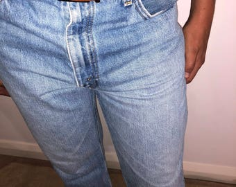 Vintage Levi & Strauss men's jeans