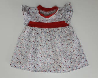 this dress is for your 12-24 months baby girl.