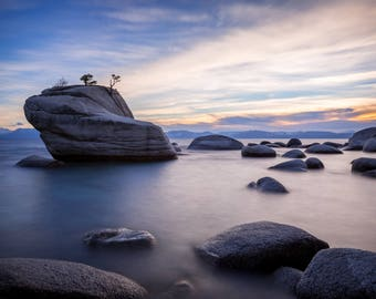 Bonsai Rock at Lake Tahoe