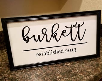 Personalized Wall Decor