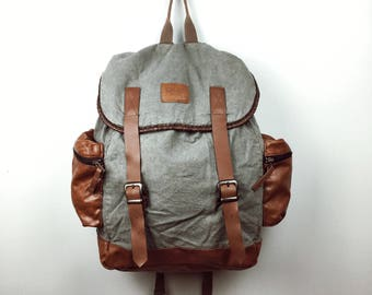 Vintage Style Backpack (organic cotton)