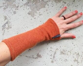 "New warmers Pulse Warmer 100% cashmere ""cashmere heart"" terracotta"