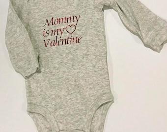 Valentine onesie