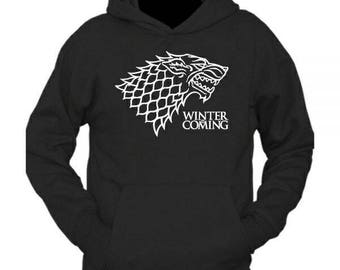 Game of thrones inspired winter is coming hoodie