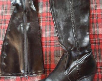 Love Heels Knee High Boots