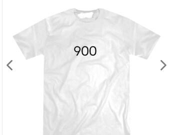 Men's white 900 t-shirt