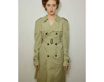 Vintage 90s trench coat
