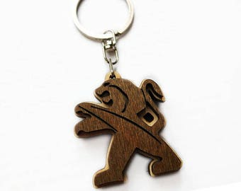 Personalized Wooden Keychain/keychain wooden