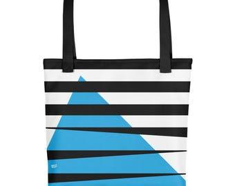 STRIPES BLUE Tote bag