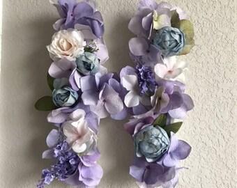 H Floral Letter