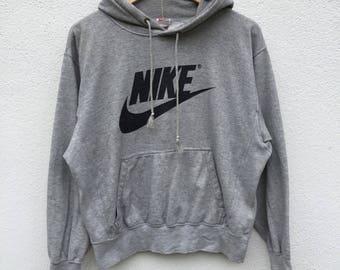 Vintage 90s nike hoodies big logo