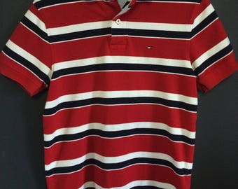 Tommy Hilfiger Polo Shirt, Mens Size M