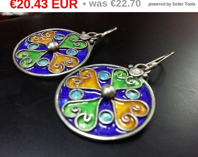jewelry Bijoux Boucles d'oreilles Argent Maille silver jewelry berber silver earrings gift for her