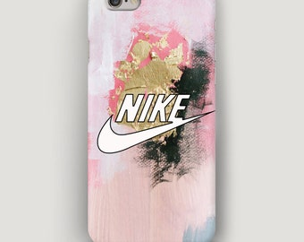 Nike Strokes iPhone SE Case, Pink iPhone 6S Plus Case, Art iPhone 5C Case, iPhone 8 Phone Case, Nike Case, Nike iPhone 7 Case, Nike Cover