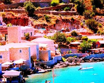 Limeni - Village in Mani Greece