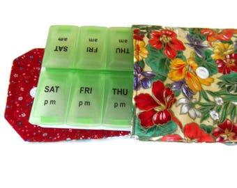 New ListingPill Box Cover, Pill Tote Cover