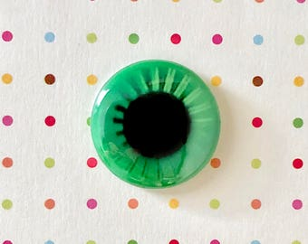 "EYE ON YOU  1"" Pin Button Blythe Doll Classic Eyechip"