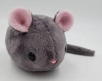 Tiny Gerbil Plush Toy ~ MADE to ORDER!!