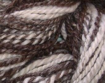 Handspun Bulky 100% Llama Yarn Mini Skein (416A-2)