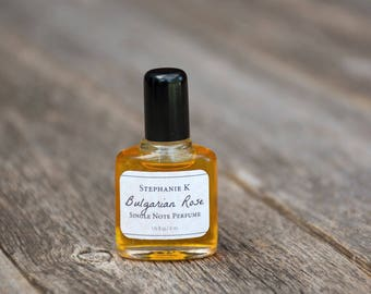 Rose Natural Perfume Oil - Great Gift for Her