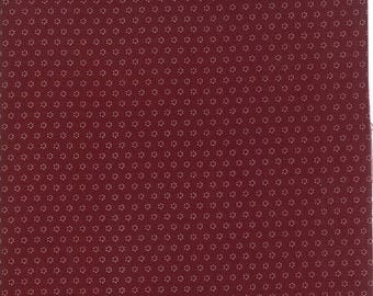 Hazel and Plum - Posies in Plum: sku 20294-15 cotton quilting fabric by Fig Tree and Co. for Moda Fabrics