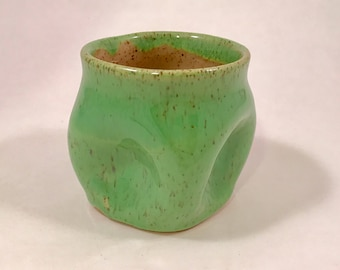 squishy cup in spring green