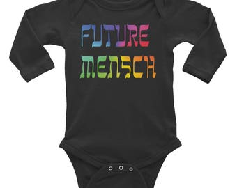 Future Mensch Infant Long Sleeve Bodysuit