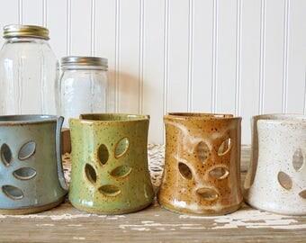 Pottery Sponge Holder - Spongette - ceramic sponge holder - Kitchen Sink top sponge holder - IN STOCK