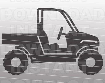 Utility ATV SVG File,Off Road SVG,Quad svg-Cutting Template-Vector Clip Art for Commercial & Personal Use-Cricut,Cameo,Silhouette,Vinyl
